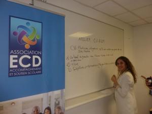 Les élèves d'ECD ont pu apprendre à construire un CV efficace.