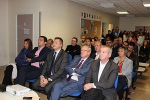 Les élus et chefs d'entreprise présents ont pu constater les résultats obtenus par l'association ECD Sartrouville. Le concept pourrait s'exporter à Argenteuil (95).